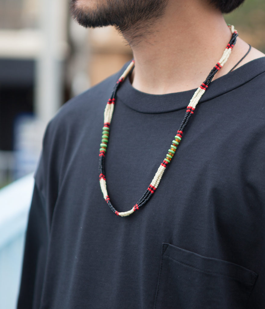 FORTUNE GOODS フォーチュングッズ Bead Necklace ビーズネックレス