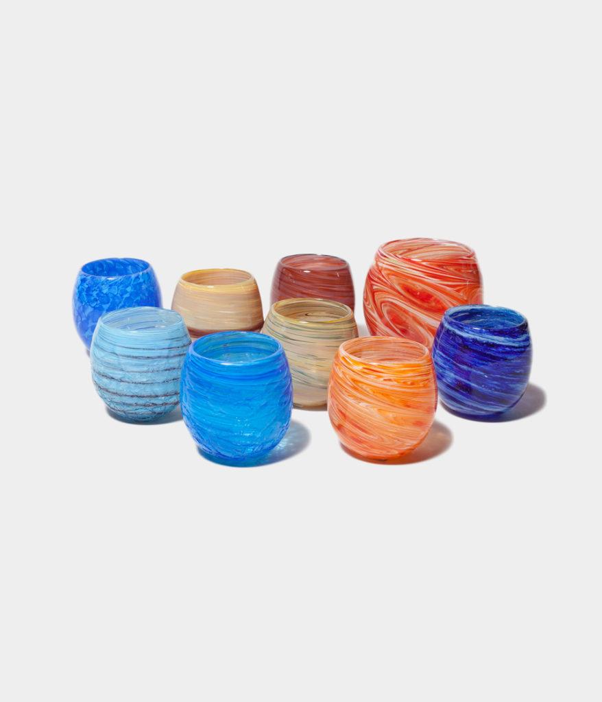 琉球ガラス ロックグラス