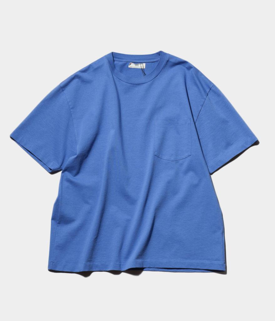 unfil アンフィル dry touch cotton jersey pocket tee オーバーサイズポケットTシャツ
