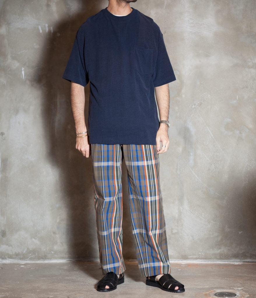 unfil アンフィル raw silk jersey pocket tee シルクポケットTシャツ
