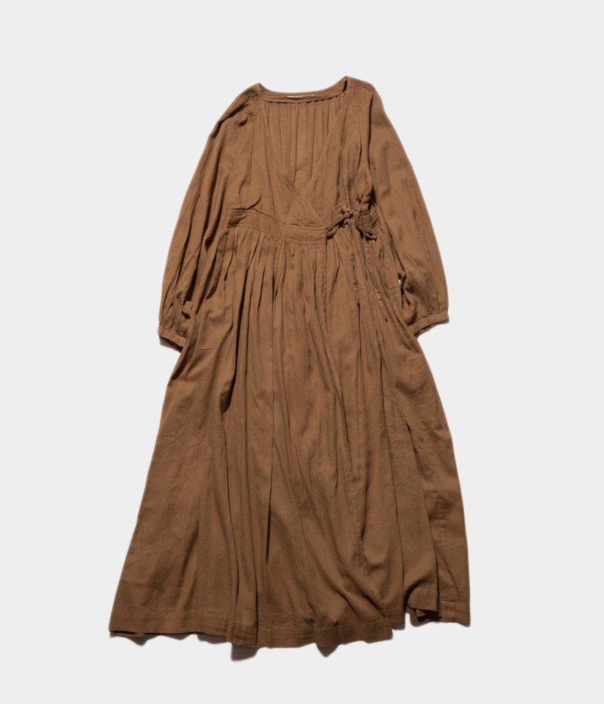 ne Quittez pas ヌキテパ moss ctn gown dress モスコットンガウンドレス
