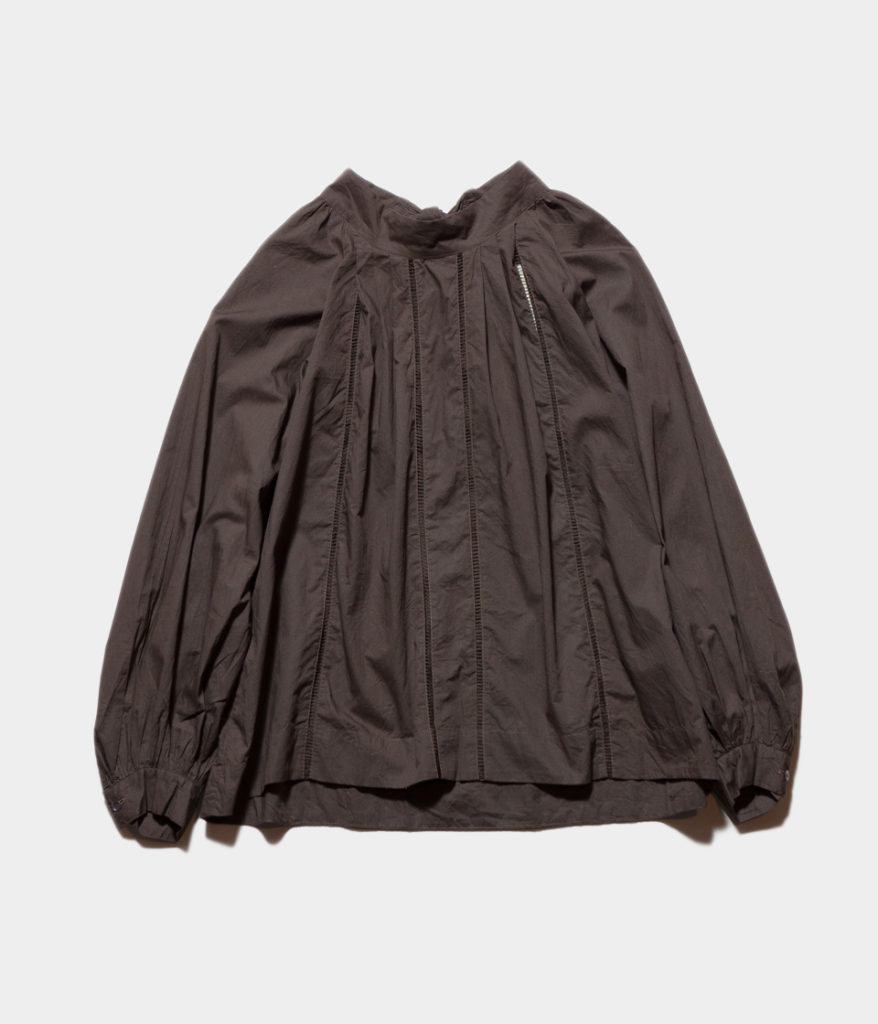 ne Quittez pas ヌキテパ fine lawn lace top ブラウス