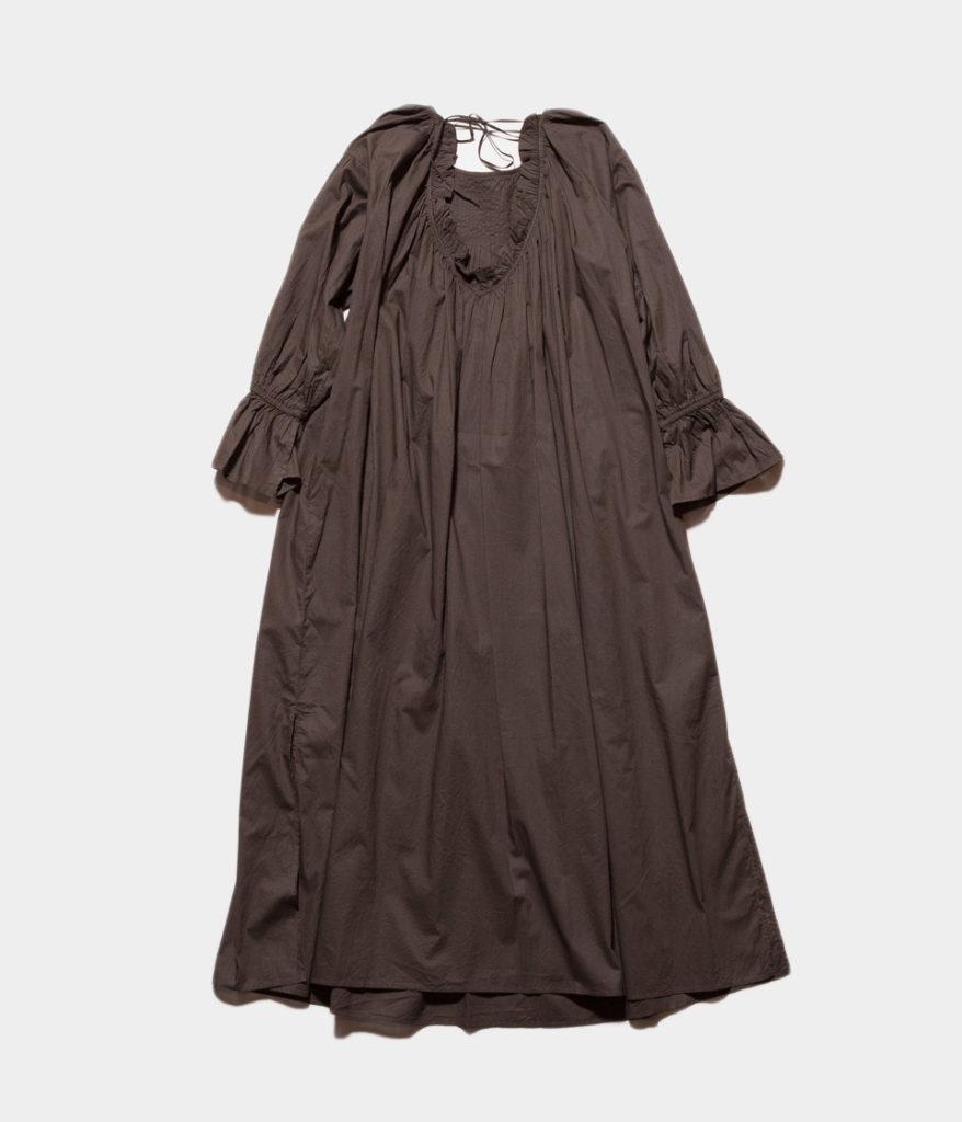 ne Quittez pas ヌキテパ fine lawn pintuck dress ピンタックドレス