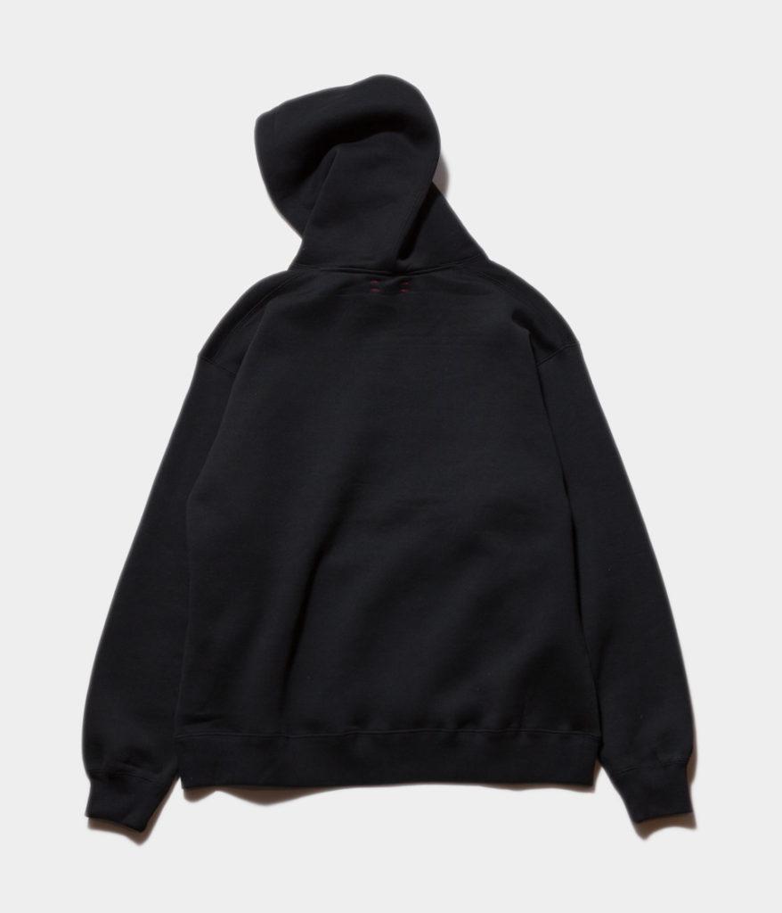 unfil アンフィル cotton-terry hoodie コットンテリーフーディ