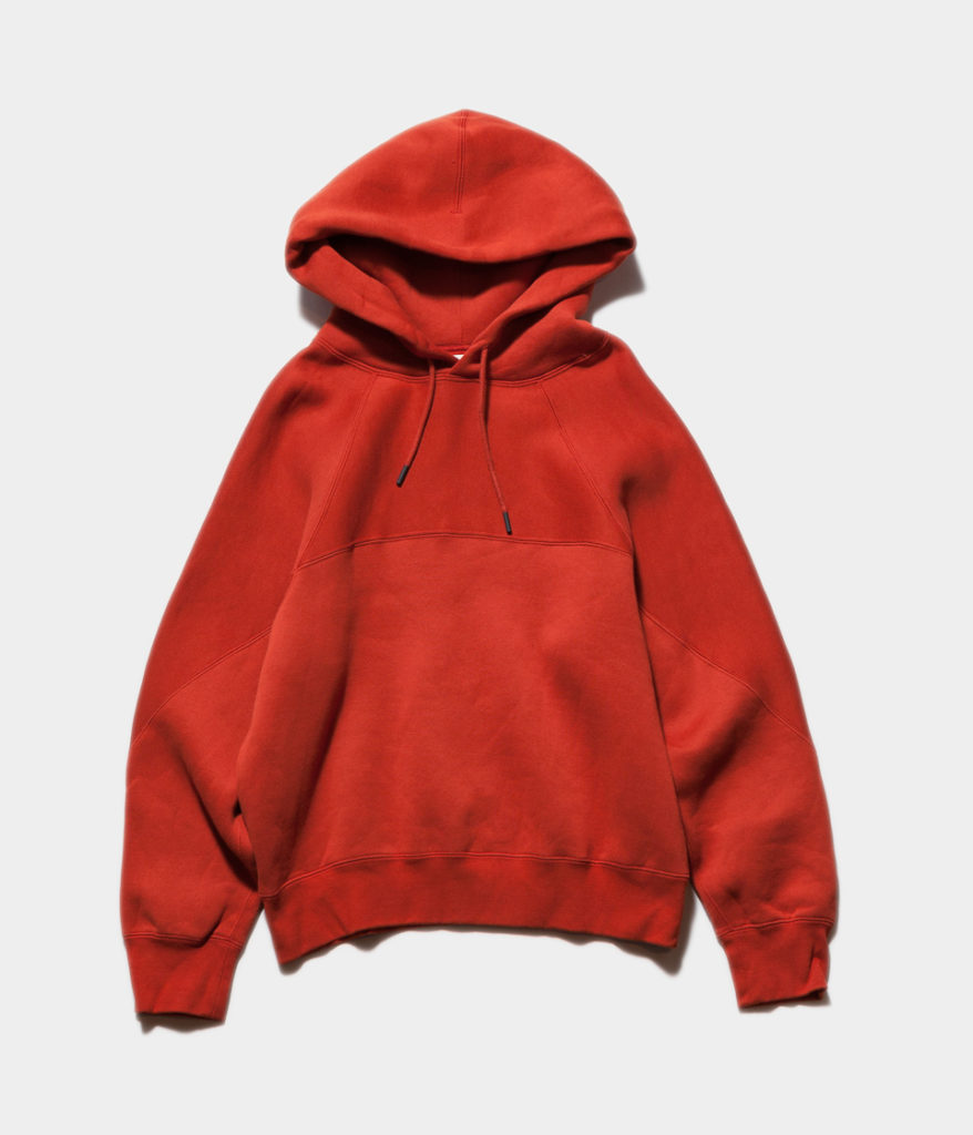 unfil アンフィル cotton-terry cropped hoodie コットンテリークロップドフーディ