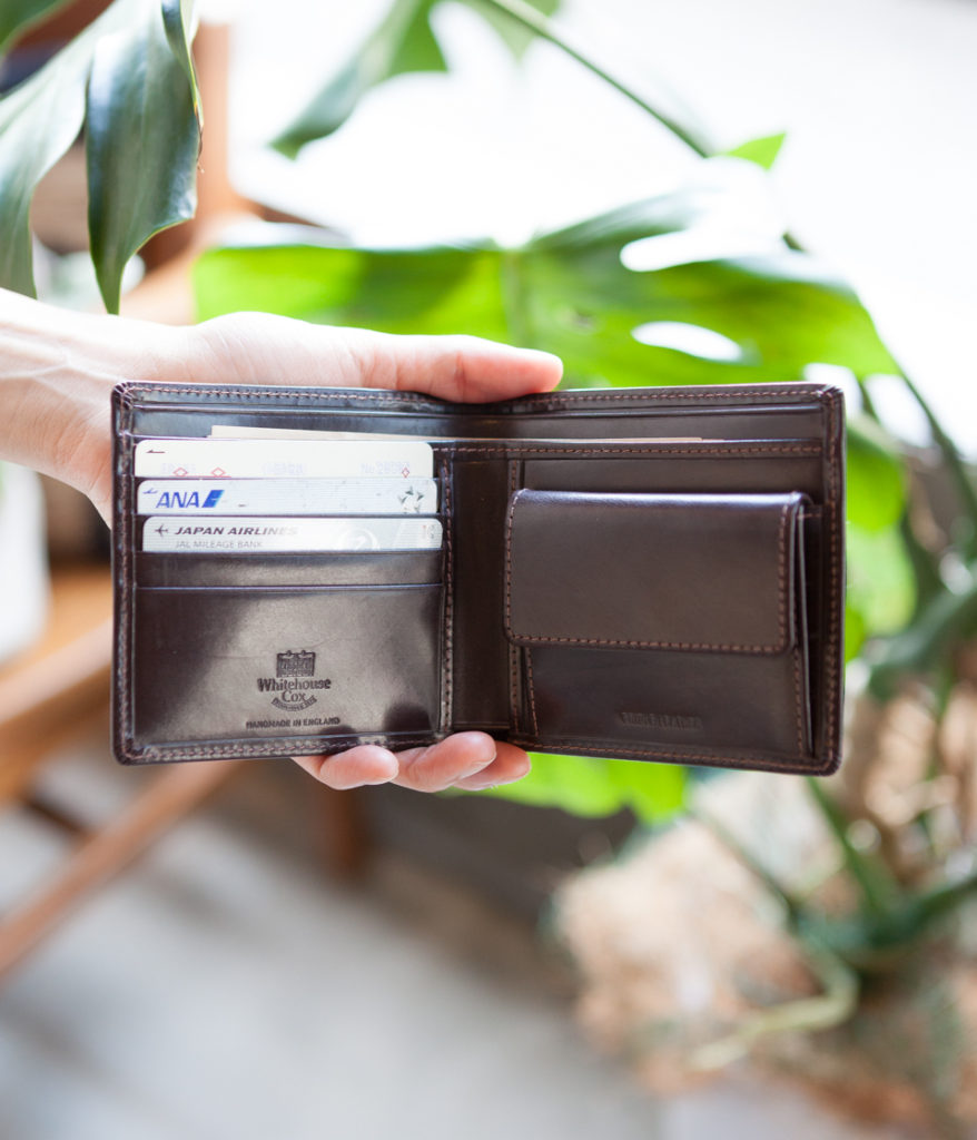 Whitehouse Cox ホワイトハウスコックス S7532 COIN WALLET 2つ折りウォレット