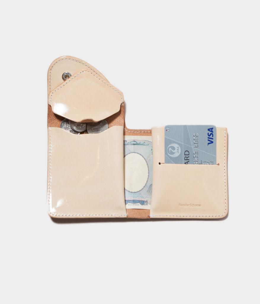 Hender Scheme エンダースキーマ patent natural wallet パテントレザーウォレット