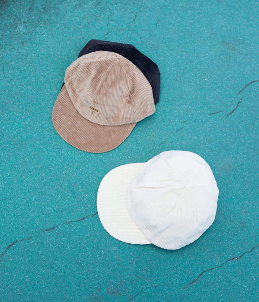 Westoveralls ウエストオーバーオールズ WEST'S CORDUROY CAP コーデュロイキャップ