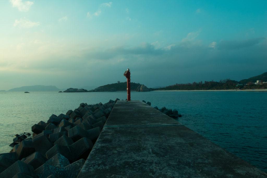 慶良間諸島 渡嘉敷島 阿波連漁港
