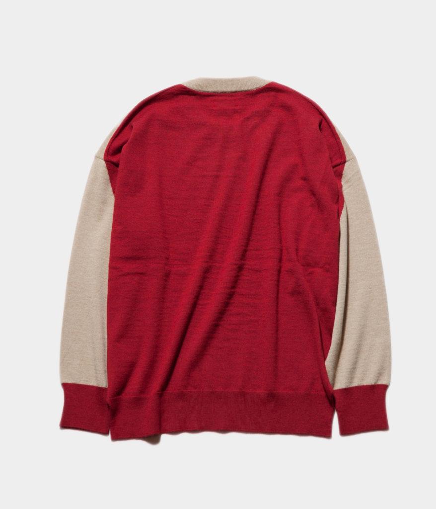 unfil superfine merino intarsia sweater アンフィル インターシャ編みセーター