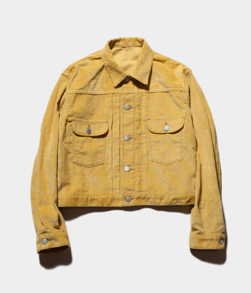 PHEENY 19SS フィーニー PS19-BL02 Dobby color corduroy jacket