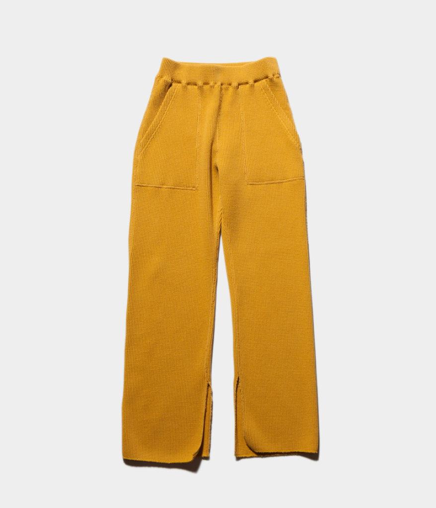 PHEENY 19SS フィーニー PS19-CS09 Big waffle slit pants
