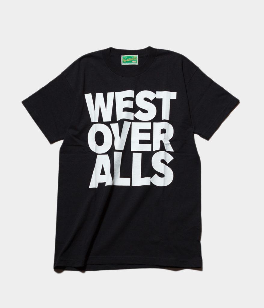 Westoveralls ウエストオーバーオールズ BIG LOGO T-SHIRTS ビッグロゴTシャツ