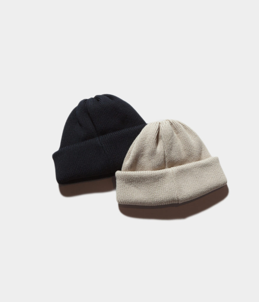 Crepuscule クレプスキュール 19SS knit cap 2 コットンニットキャップ
