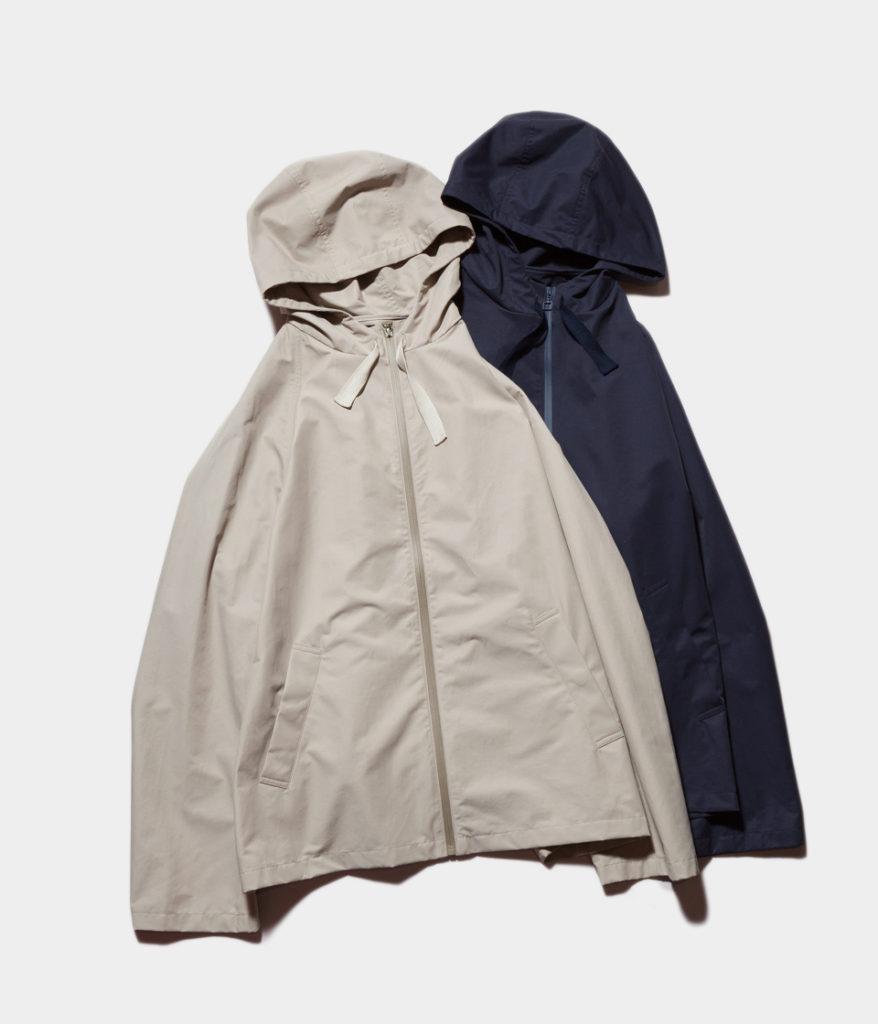 STUDIO NICHOLSONスタジオニコルソン 19SS BAILEY Technical Cotton Jacket-Hooded Crop Jacket