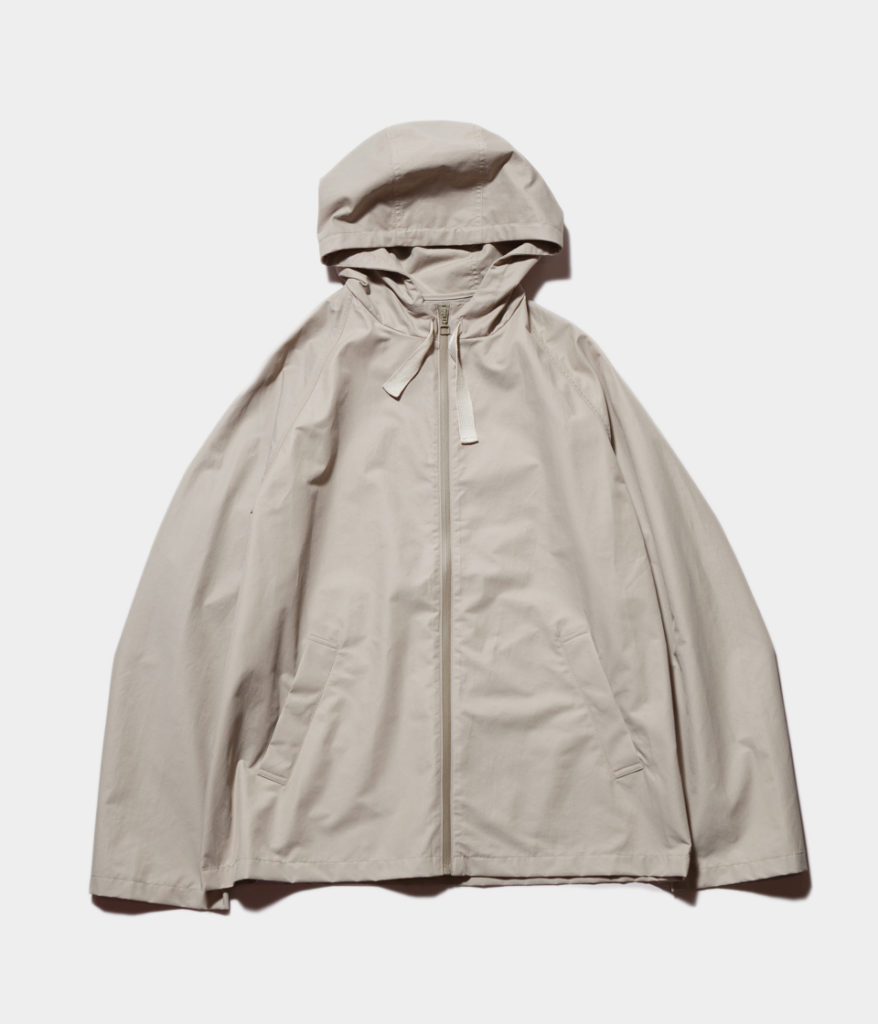 STUDIO NICHOLSONスタジオニコルソン 19SS BAILEY Technical Cotton Jacket-Hooded Crop Jacket