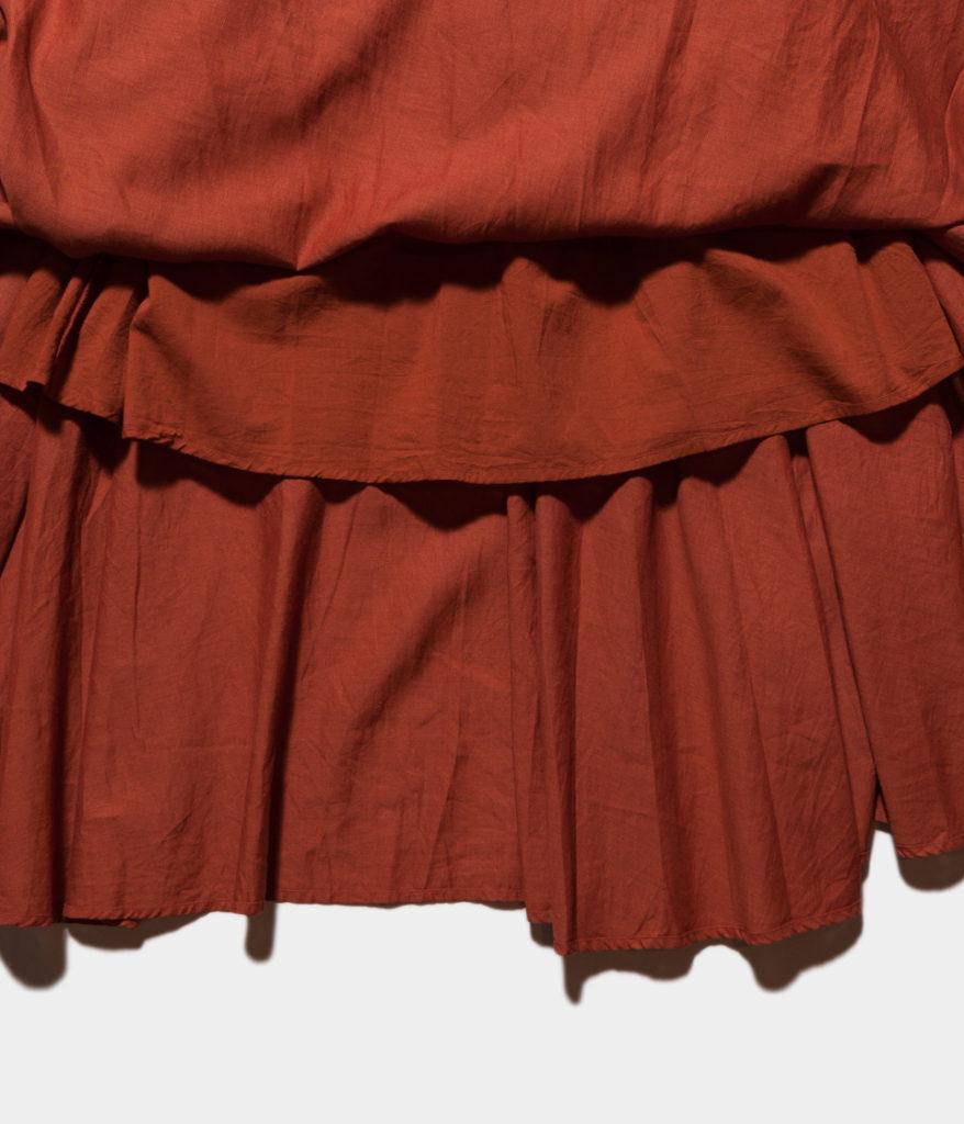 Ne Quittez Pas ヌキテパ Cotton Linen Long Skirt コットンリネンロングスカート