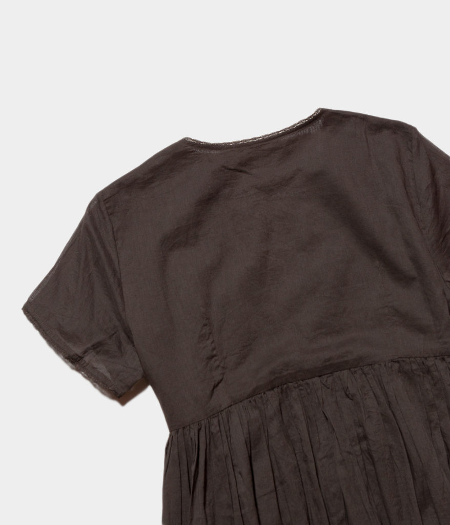 Ne Quittez Pas ヌキテパ Cotton Voil Ssl Gown