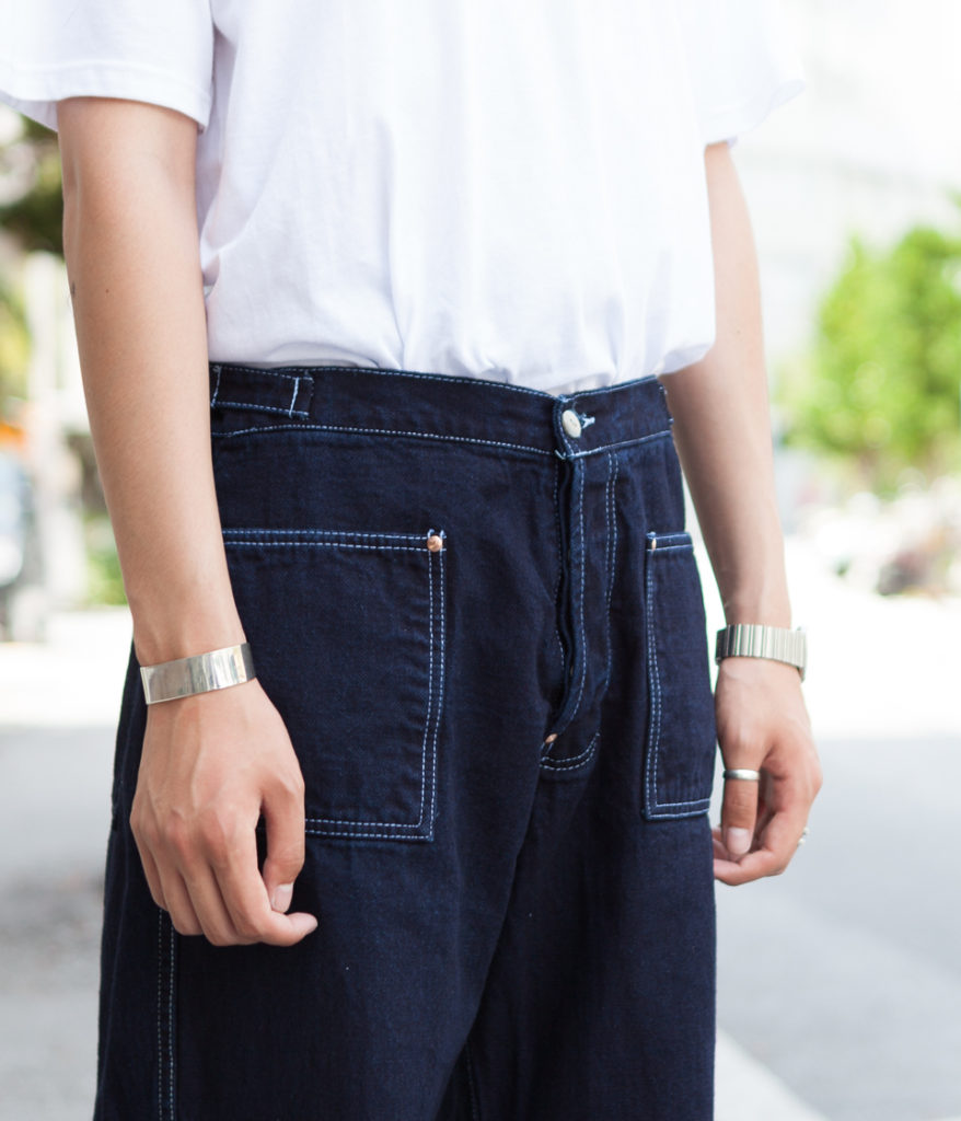 Tender Co. テンダー Type126 Side Cinch Oxford Trousers 通販