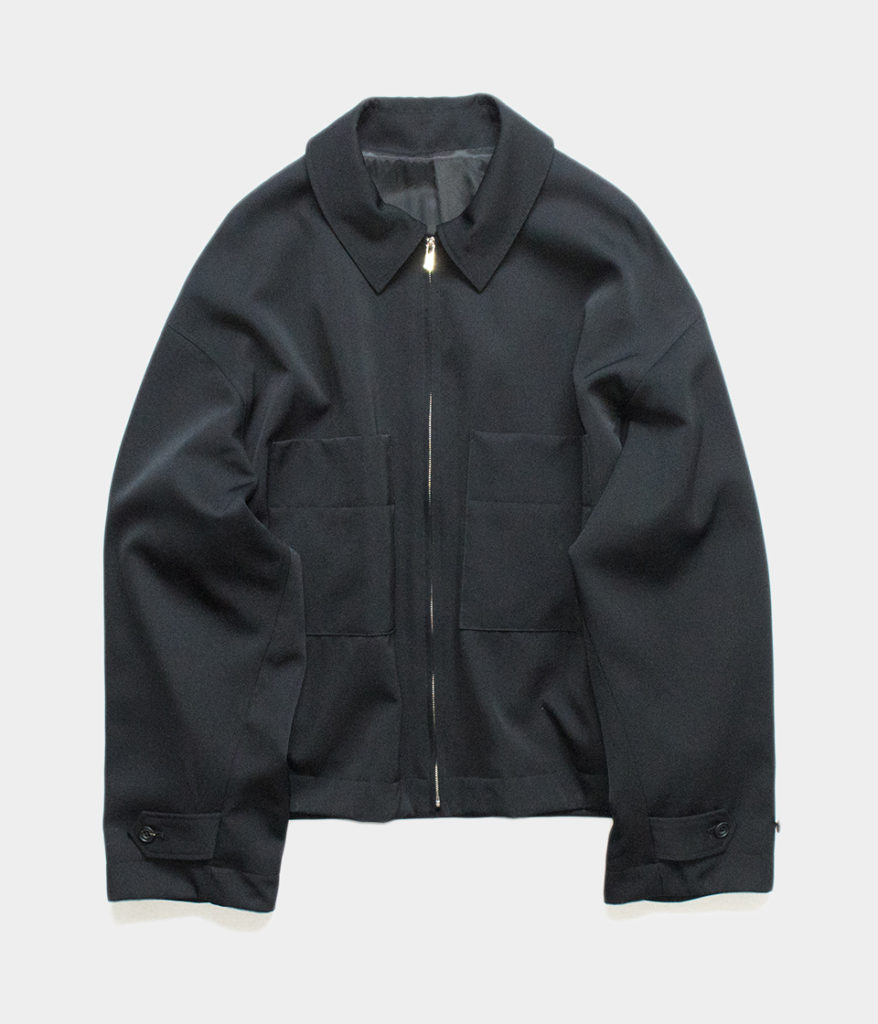 Stein シュタイン 19AW 通販 OVER SLEEVE DRIZZLER JACKET