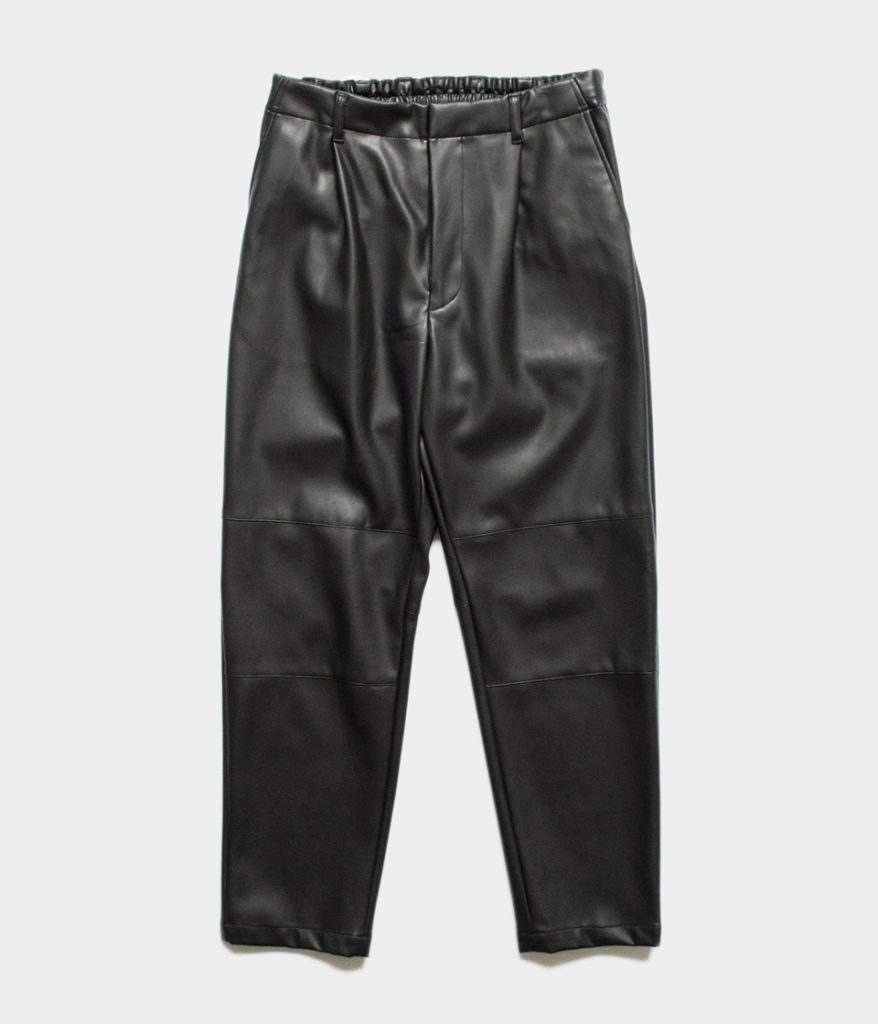 Stein シュタイン 19AW 通販 FAKE LEATHER TROUSERS