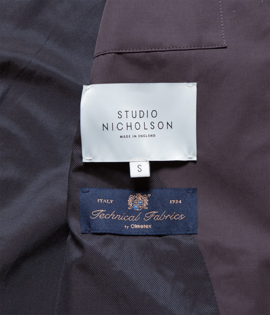 STUDIO NICHOLSON スタジオニコルソン 19AW 通販 NYMIL