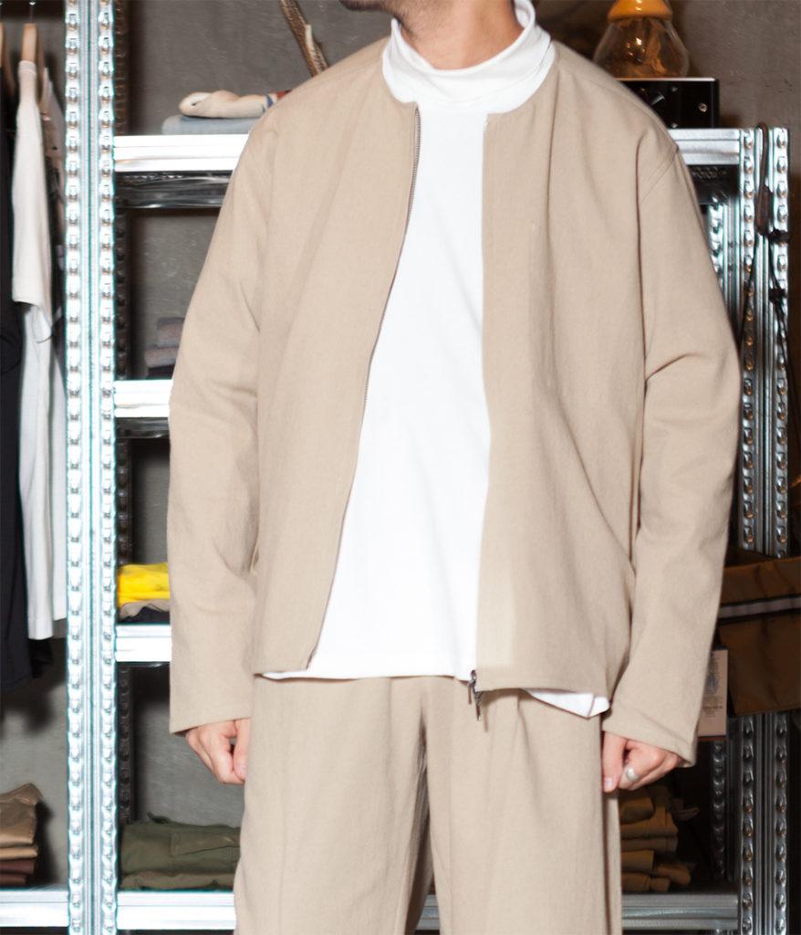 STUDIO NICHOLSON スタジオニコルソン 19AW DENZT Wool Twill Outerwear Wool Liner ウールライナージャケット