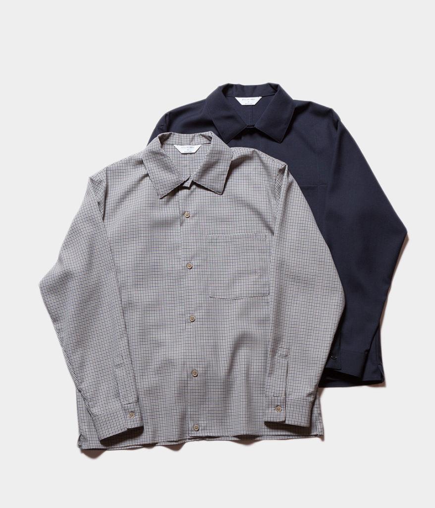 STILL BY HAND スティルバイハンド 19AW SH0493 オープンカラーシャツ