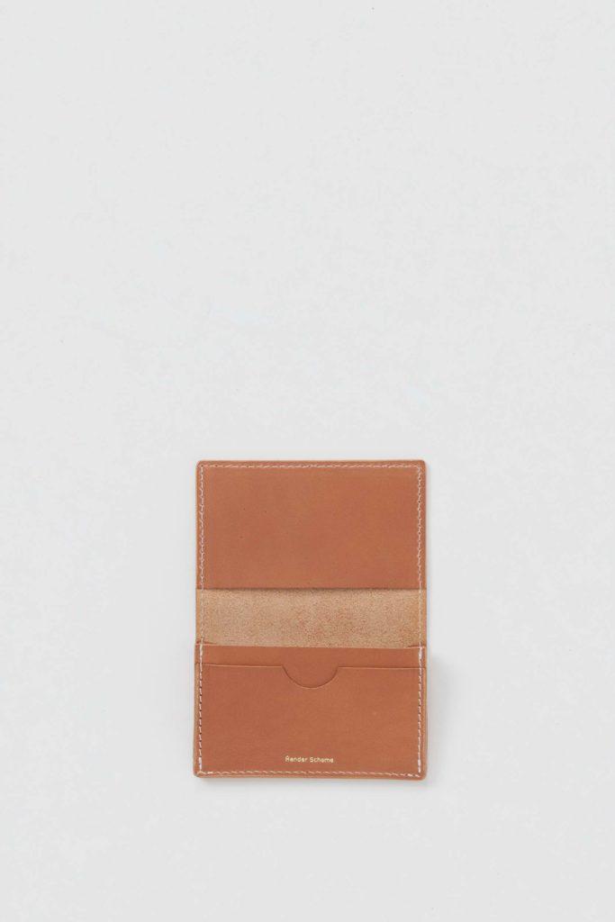 Hender Scheme エンダースキーマ 20SS folded card case ホールドカードケース 名刺入れ