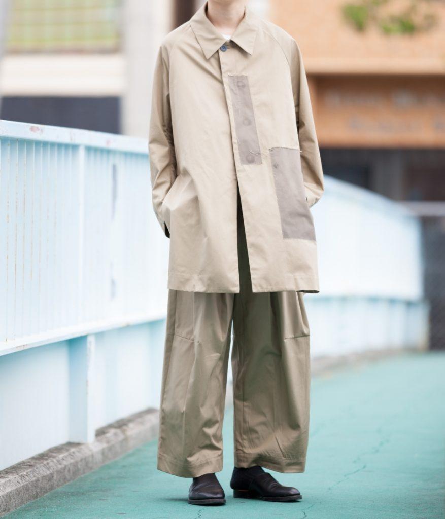 SHINYA KOZUKA シンヤコヅカ 20SS MAC-ISH サイドスリットコート