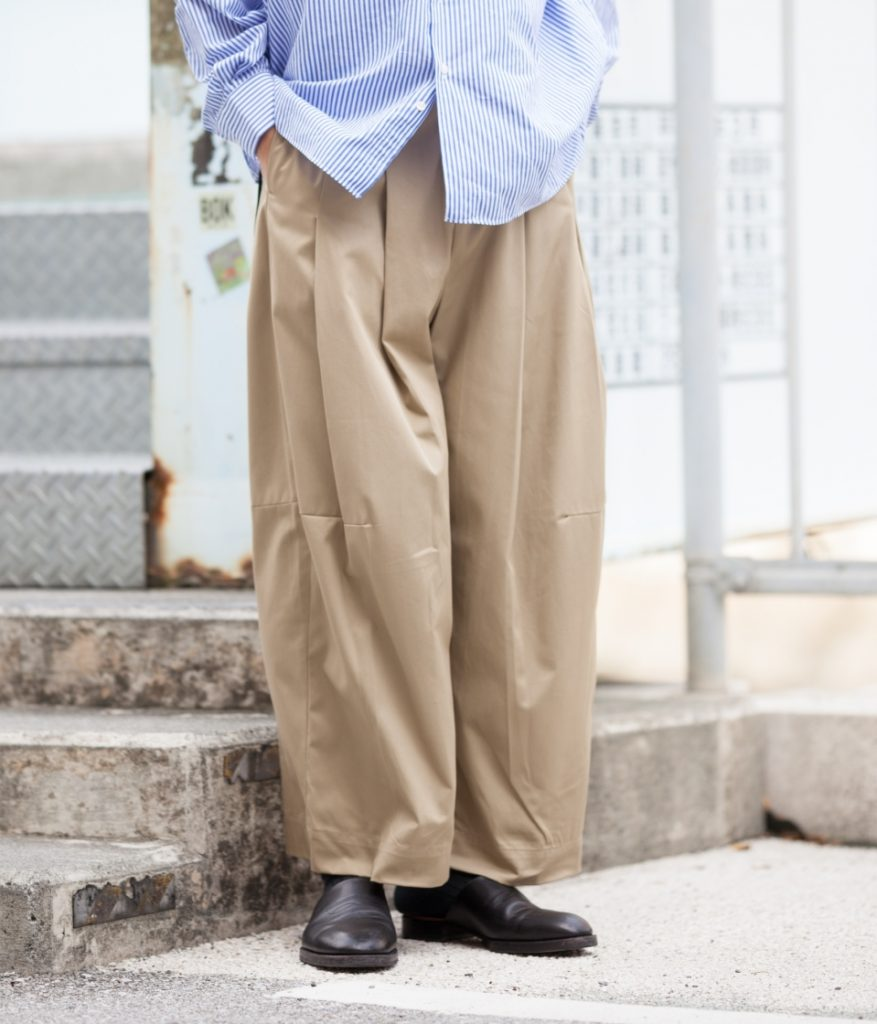 SHINYA KOZUKA シンヤコヅカ 20SS BAGGY バギーパンツ