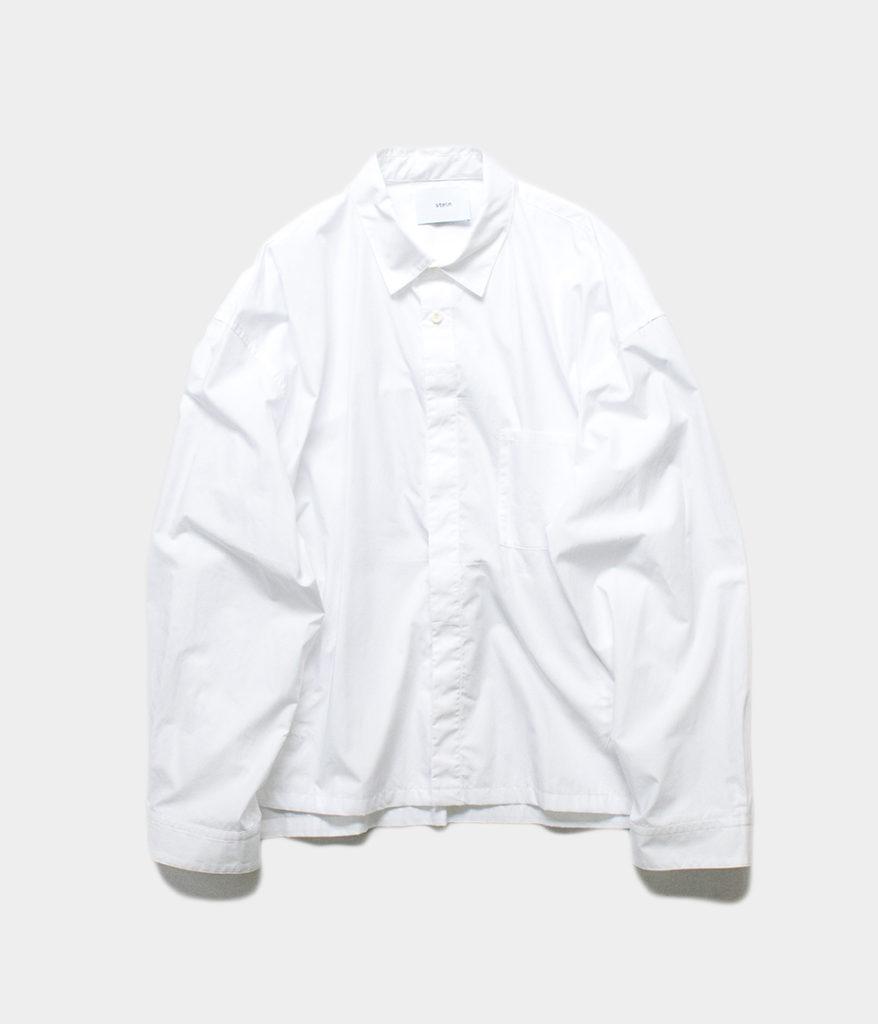 stein 20SS シュタイン OVER SLEEVE COMBINE SHIRT JACKET シャツジャケット