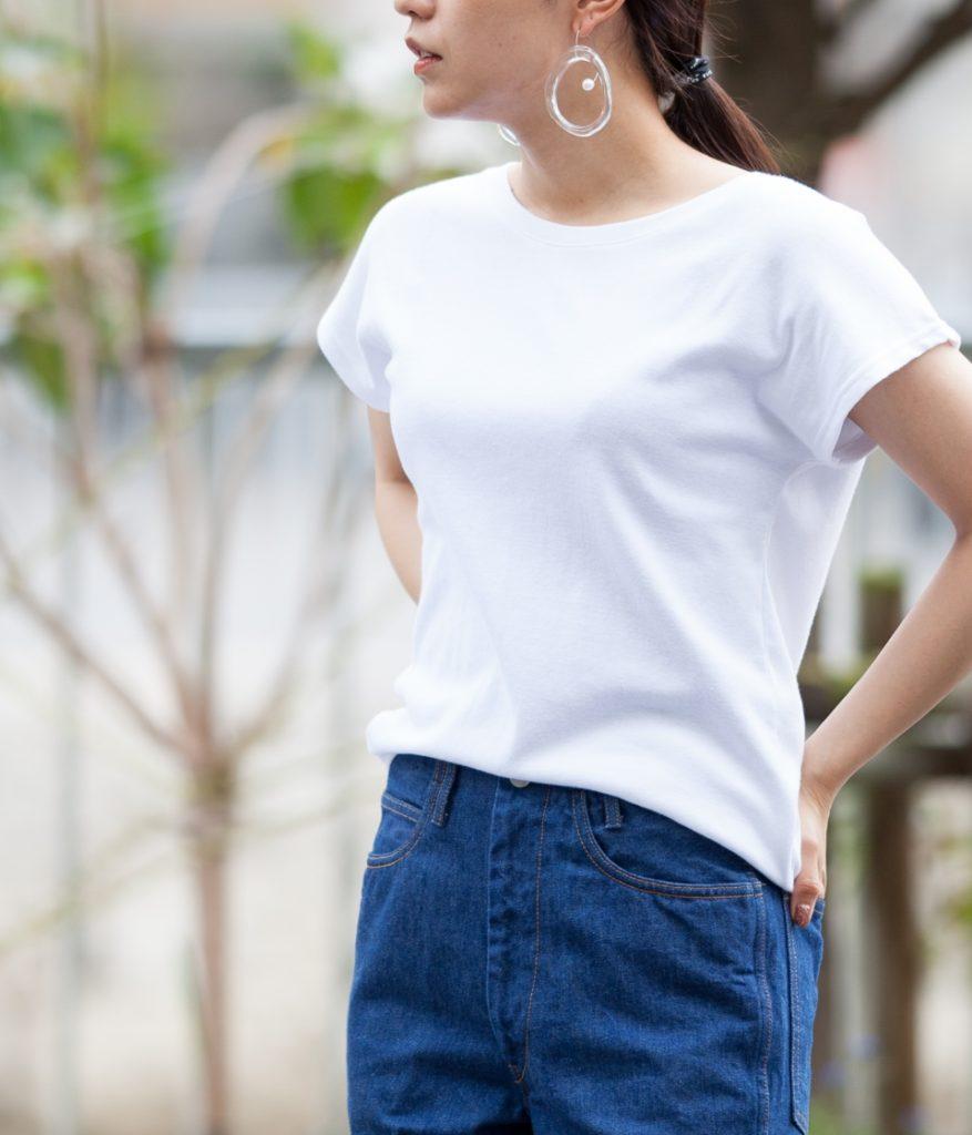 gicipi ジチピ レディースフレンチスリーブTシャツ