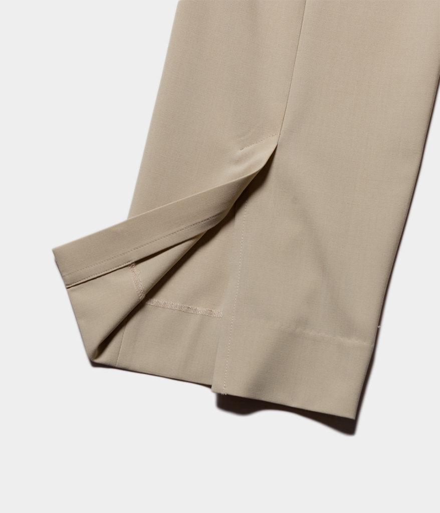 YOKE ヨーク 20SS 通販 BACK SLIT STRAIGHT PANTS バックスリットストレートパンツ