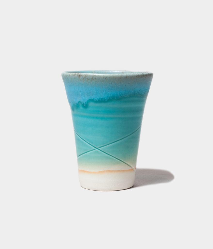うるま陶器 やちむん 通販 ビアカップ