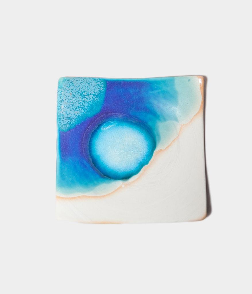 うるま陶器 やちむん 通販 正方形皿