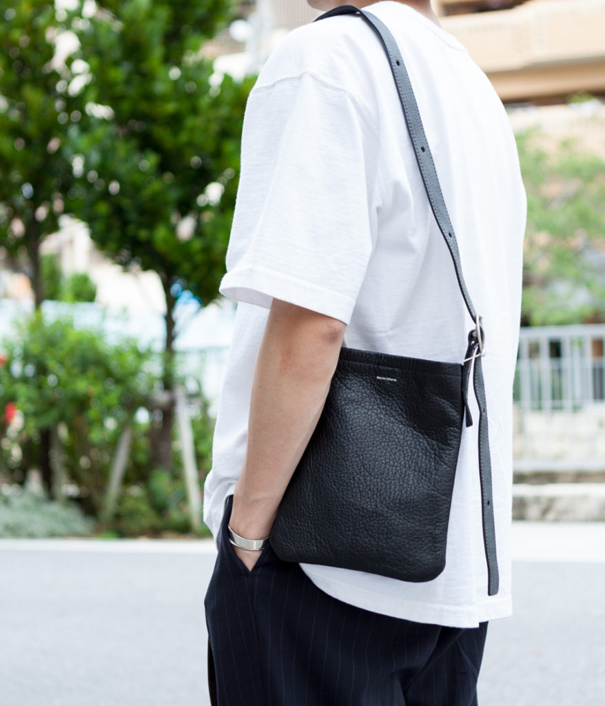 Hender Scheme エンダースキーマ 20AW 通販 one side belt bag small ワンサイドベルトバッグ