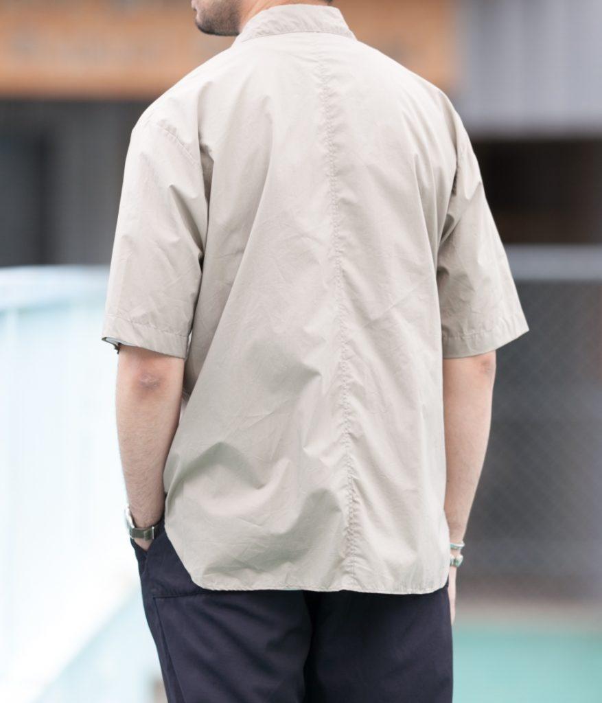 STILL BY HAND スティルバイハンド 20SS SH02202 半袖レギュラーカラーシャツ