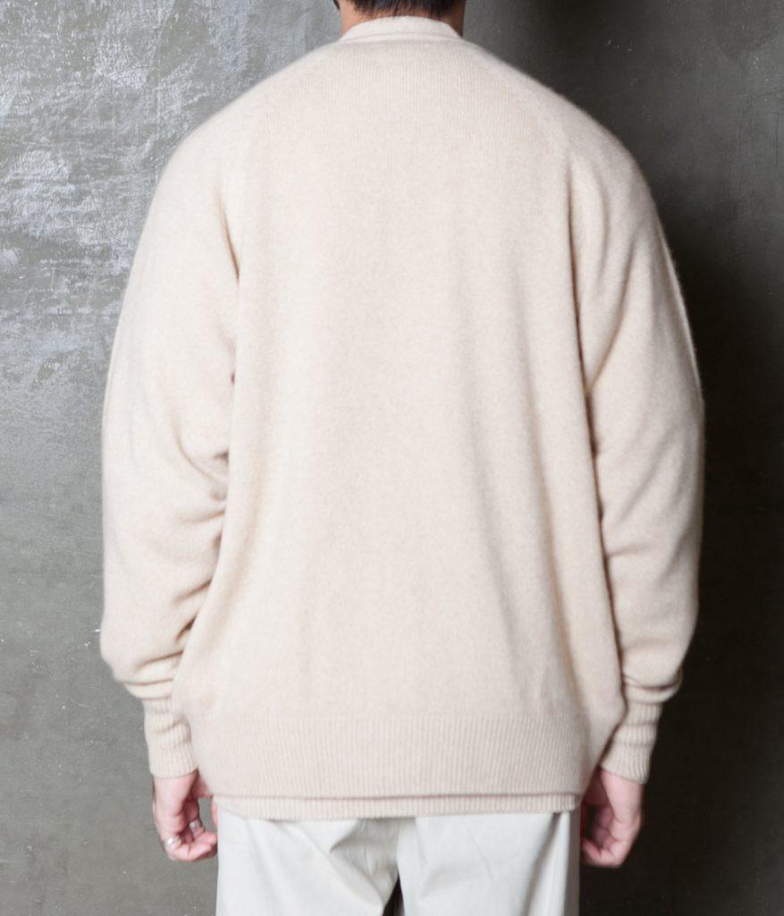 HERILL ヘリル 20AW 通販 ゴールデンキャッシュ ホールガーメント カーディガン Golden cash hole garment cardigan
