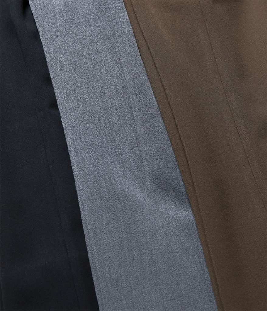 PHEENY フィーニー Double cloth high waist semi flared slacks ダブルクロスハイウエストセミフレアスラックス