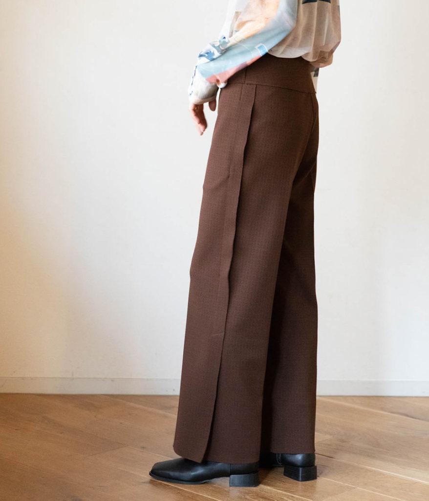 PHEENY フィーニー Amunzen side stripe pants アムンゼンサイドストライプパンツ