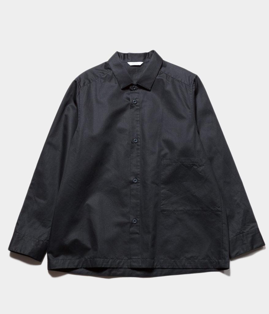 Kontor コントール BOX PLACKET OVERSHIRT オーバーシャツ