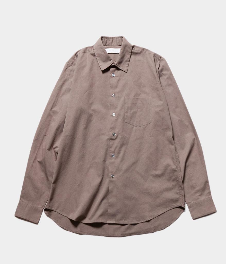 JAN MACHENHAUER ヤンマッケンハウアー 20AW 通販 CHRIS クリス コットンツイルシャツ