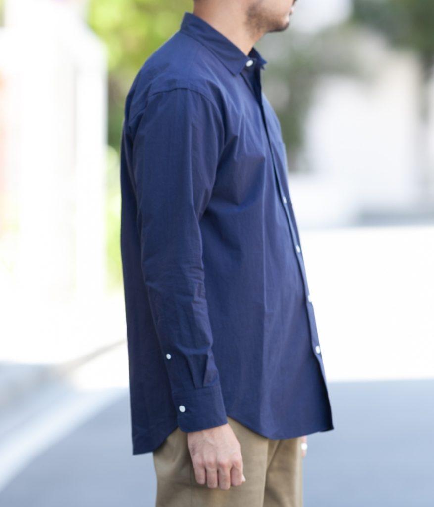 SCYE サイ SCYE BASICS サイベーシックス Peru Cotton Poplin Over Shirt ポプリンオーバーシャツ