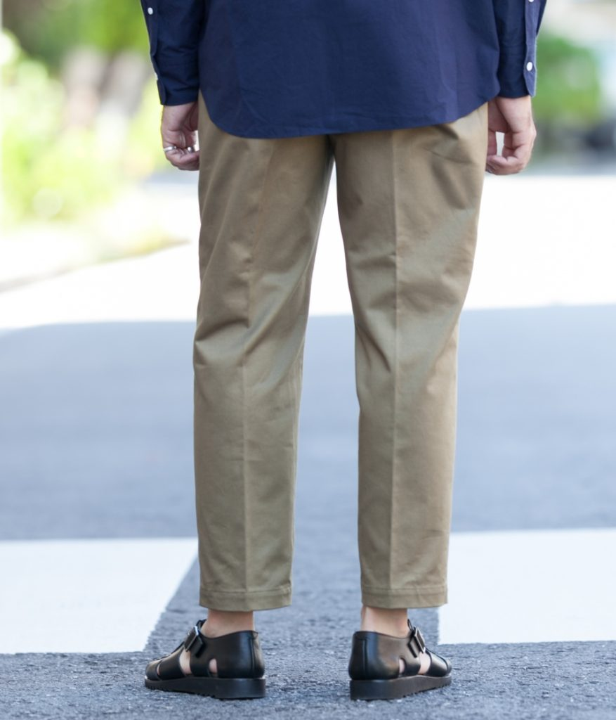 SCYE サイ SCYE BASICS サイベーシックス San Joaquin Cotton Chino Loose Fit Tapered チノパン
