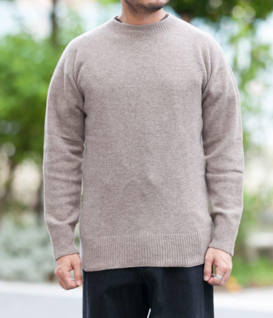 MITTAN ミッタン KN-02 ウールセーター