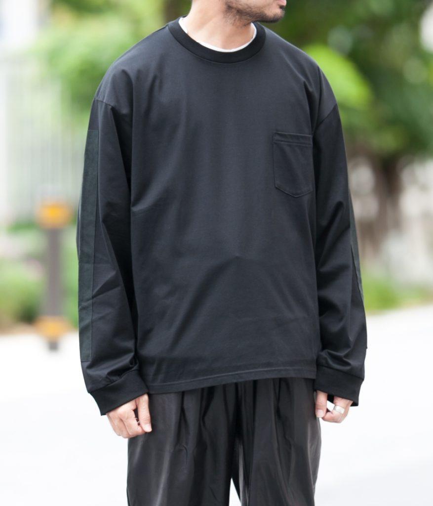 stein シュタイン 20AW OVERSIZED LONG SLEEVE POCKET TEE オーバーサイズロングスリーブポケットTシャツ