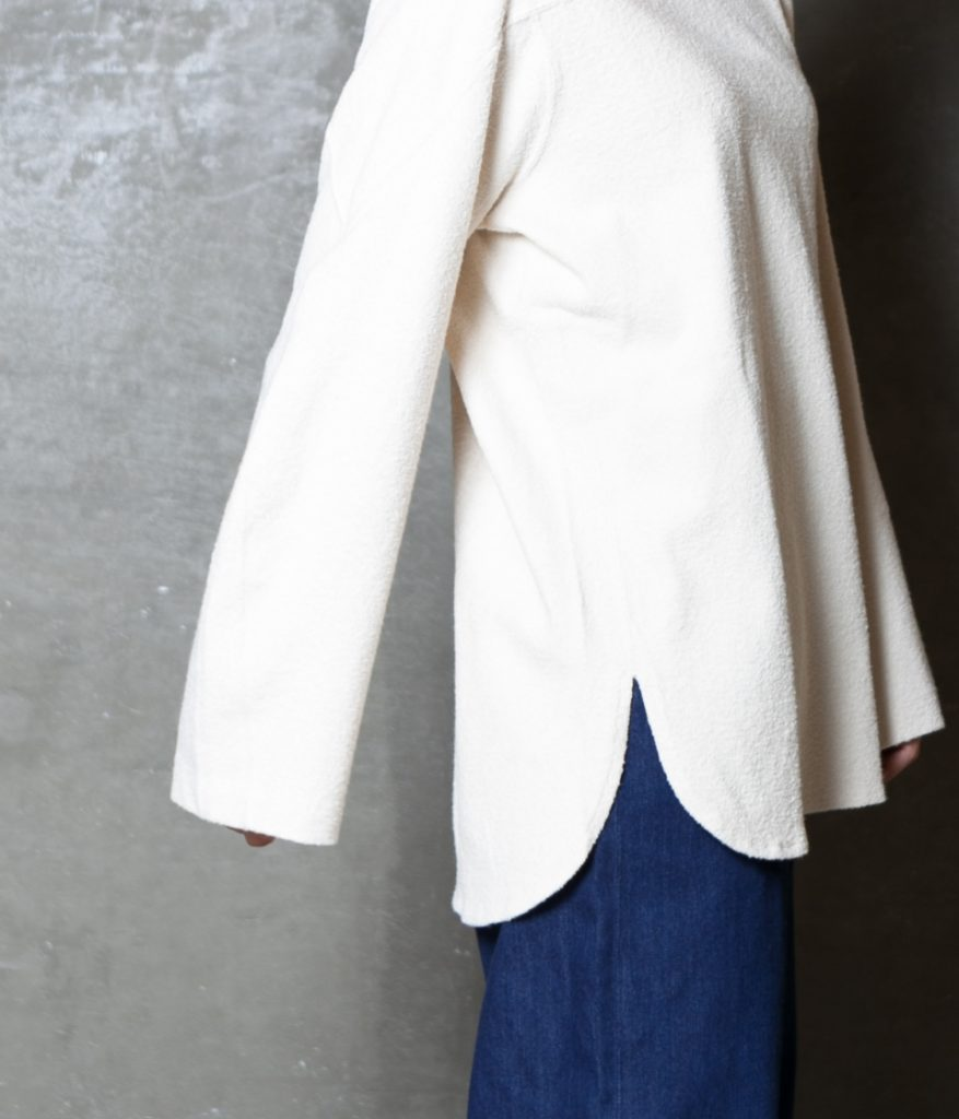unfil アンフィル vintage cotton-pile long sleeve Tee ヴィンテージコットンパイルロングスリーブTシャツ