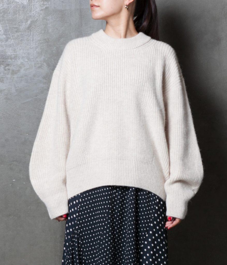 unfil アンフィル royal baby alpaca sweater ロイヤルベビーアルパカセーター