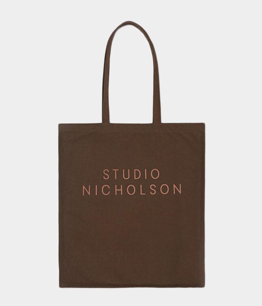 STUDIO NICHOLSON スタジオニコルソン 20AW STANDARD TOTE LARGE コットンキャンバスラージトート